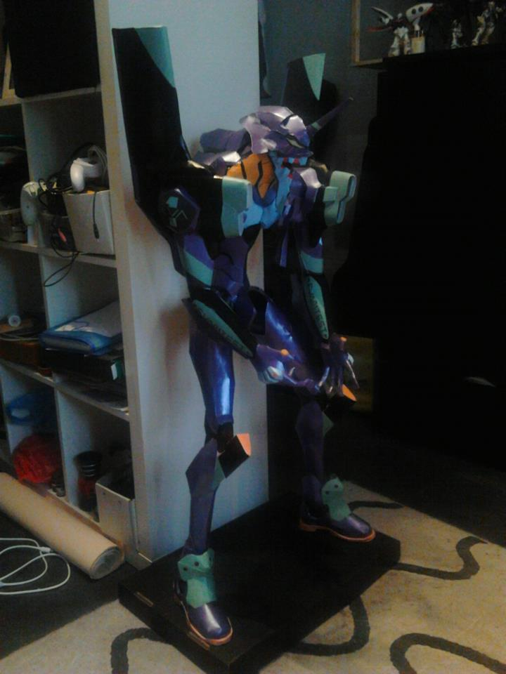 Eva Papercraft by daronzo83