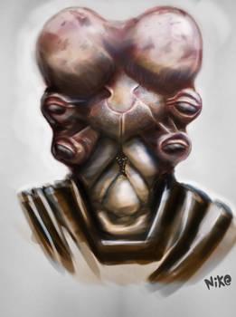 concept alien creature