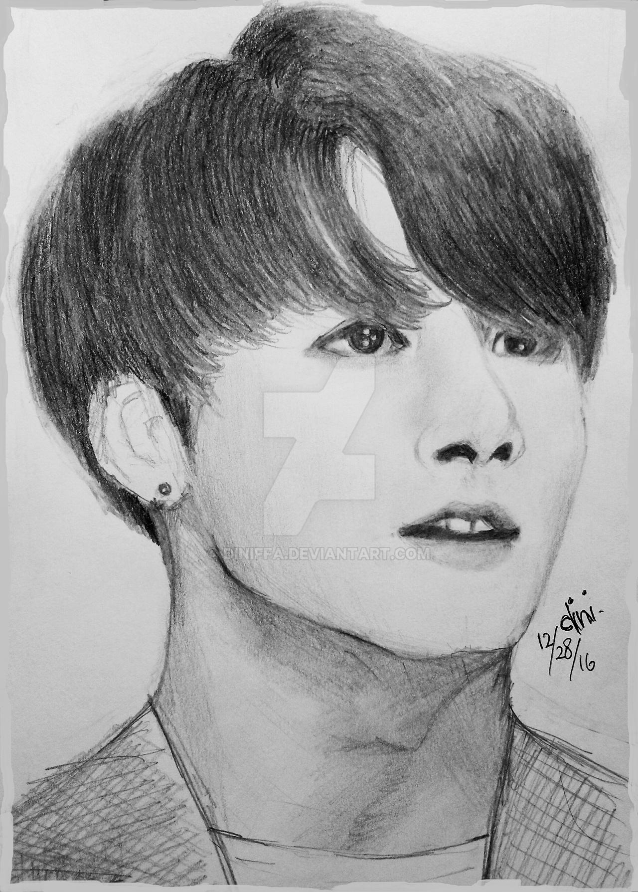 BTS Jeon Jungkook Fan Art By Diniffa On DeviantArt