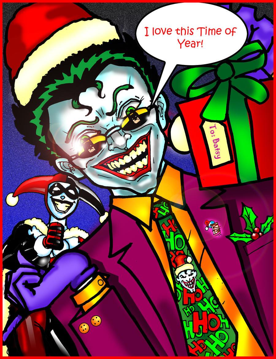 Joker Christmas by BigRob1031 on DeviantArt