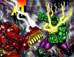 IronMan vs Hulk_TQ+RB by BigRob1031