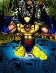 Wolverine vs Predators_wip4