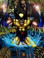 Wolverinr vs Predators by BigRob1031