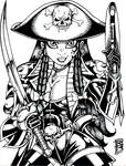 Captain Collette inks sm by BigRob1031