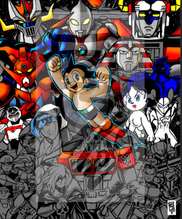 Classic anime wip1 color by BigRob1031