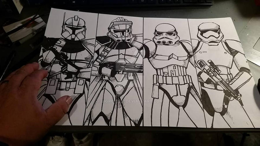 Trooper Phase Armour inks by BigRob1031