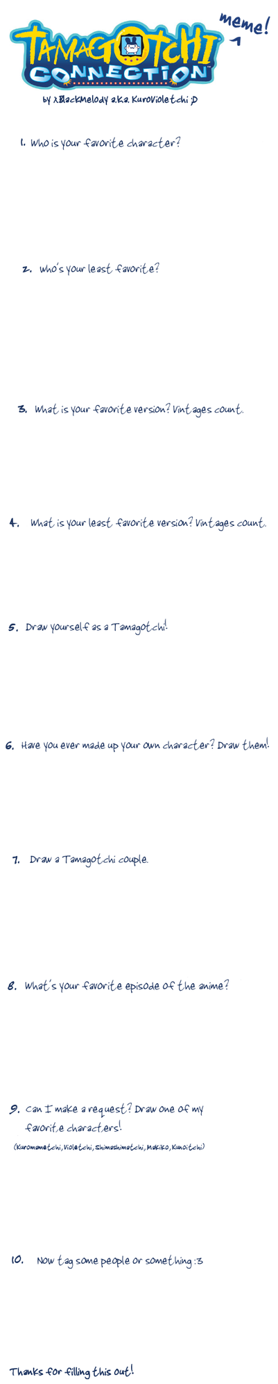 Tamagotchi Meme by xBlackMelody