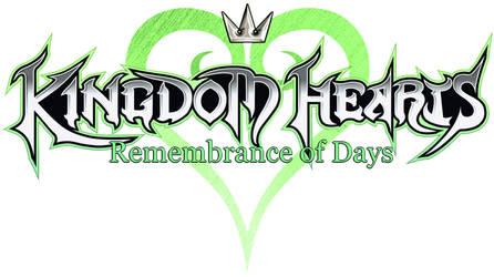 Kingdom Hearts: Remembrance Of Days [Logo]