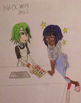 KH OC Week 2020 - Day 2 - Ties That Bind