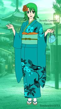 (Remake) Neashi in her Kimono