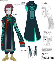 Zelda ORAS - Zant Redesign [Final]