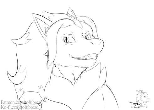 Shiro as a Zoroark