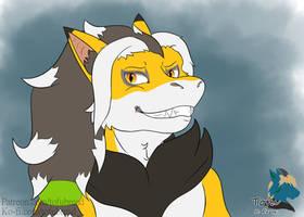 Shiro as Zoroark (Colored)