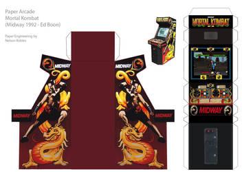 Papercraft Arcade : MK
