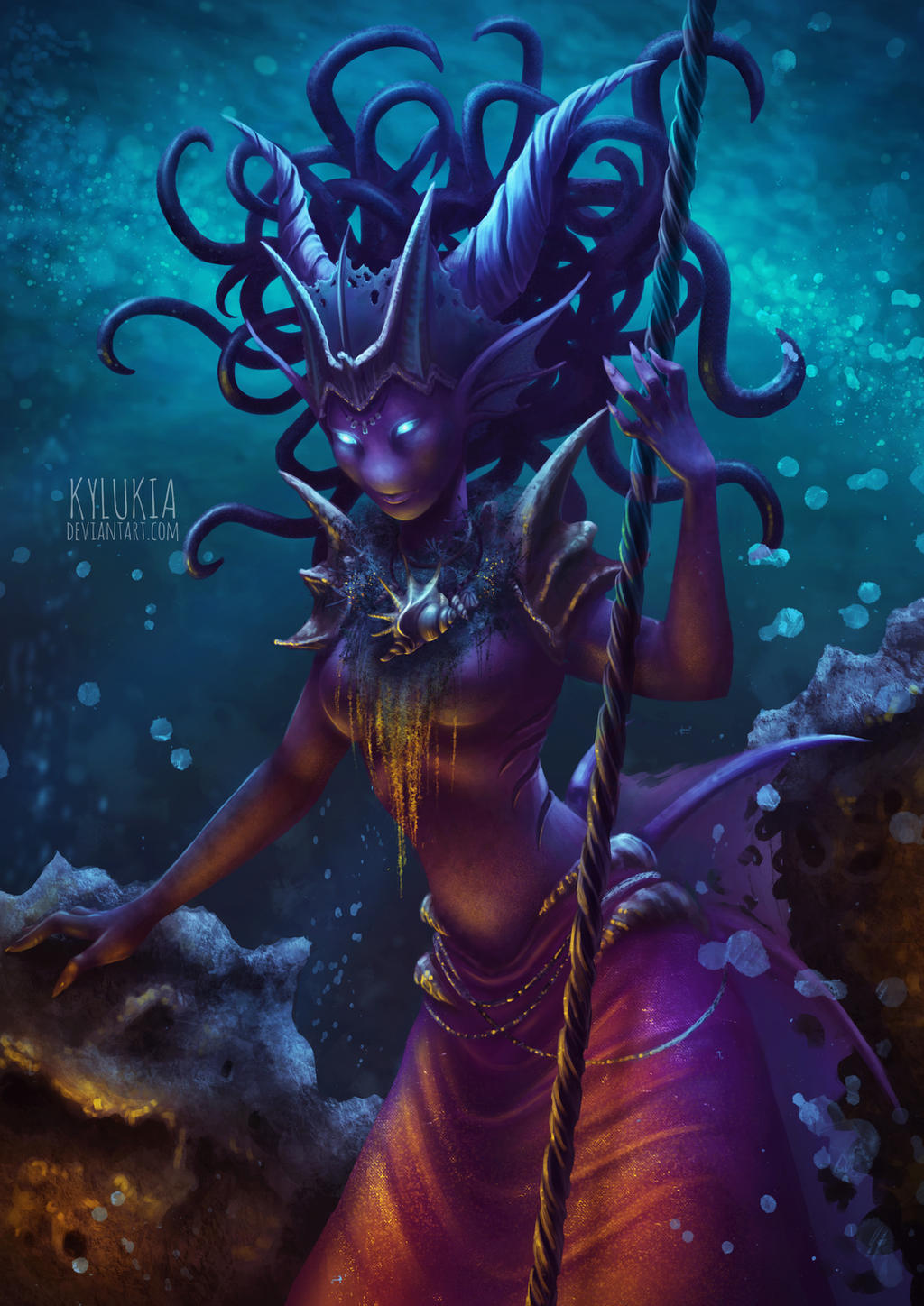 Sea Queen by kylukia