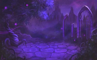Fantasy background by kylukia