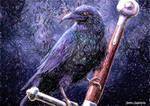 Drawlloween 2015 D11 Raven