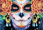 Drawlloween 2018 Day19 Dia De Los Muertos
