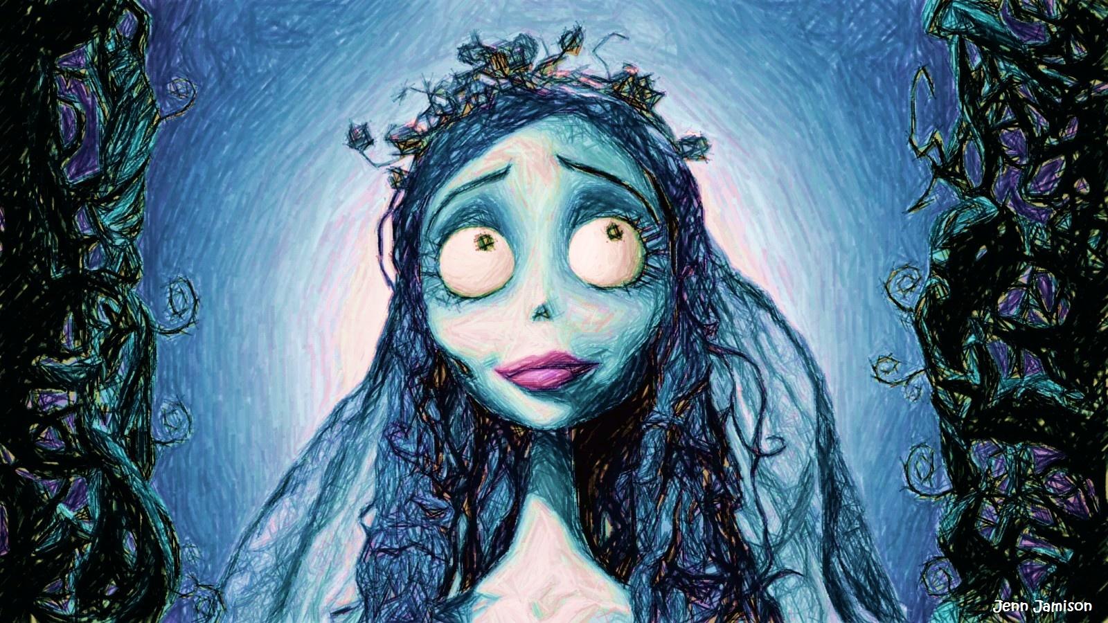 Drawlloween 2018 Day30 Corpse Bride