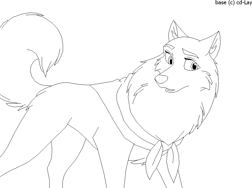 balto coloring pages online - photo#25