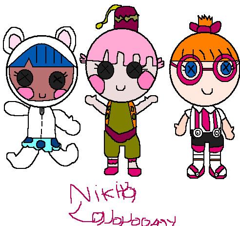Lalaloopsy Littles Cartoon Lalaloopsy Littles by Nikithe9