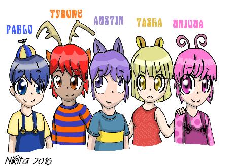 The Backyardigans Anime Style By Nikithe9