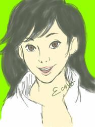 Bravest Warriors : Beth Tezuka (iPad) by EchoOnDevi