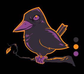 Grim Threads - Crow WIP by grimcinder