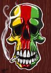 Ene's Rasta Skull