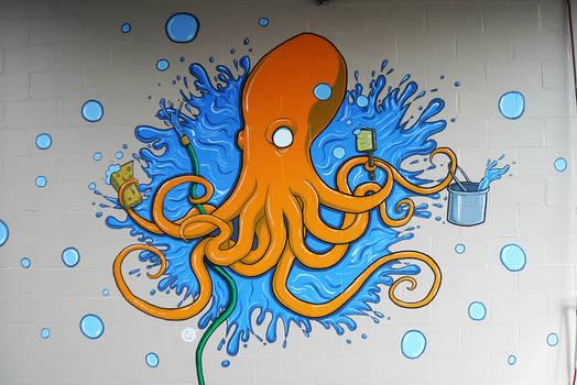 Rubadub Oct-O-Wash Mural Day6