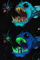 Horror of the Deep Sea by grimcinder