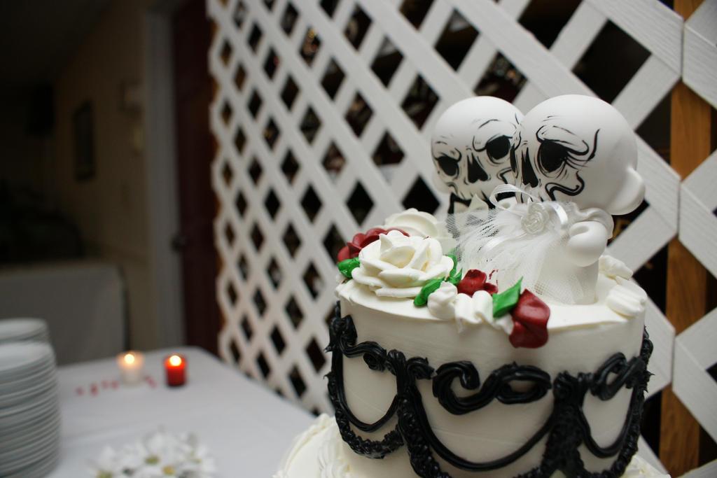Black Metal Wedding By Grimcinder