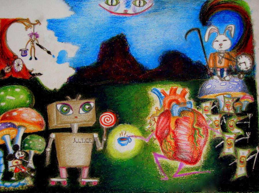 A.L.I.C.E. in Wonderland by Sarmistha-Talukdar