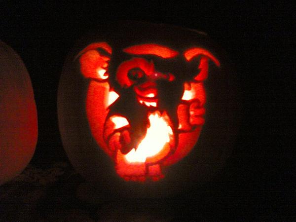 Disney Pumpkin Carving Stencils Stitch