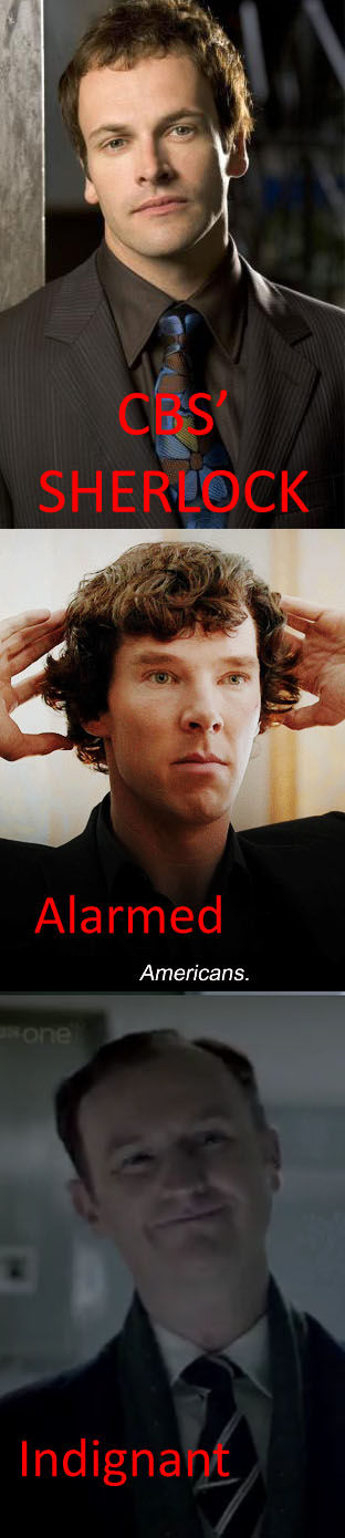 CBS' Sherlock by XDeidaraXD