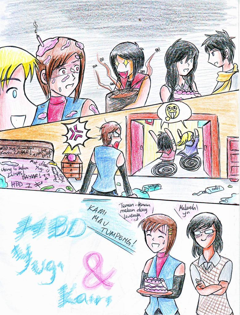 CR: HBD (very belated) Yugi and Kairi by ankomatsuyama