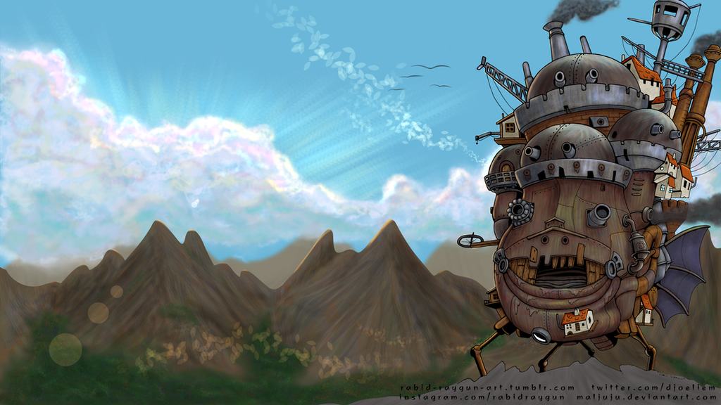 Howls Moving Castle Wallpaper By MalJuJu
