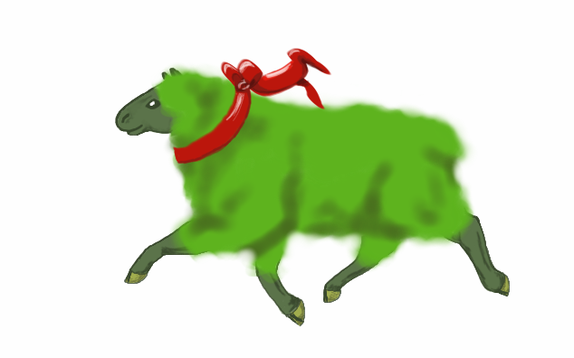 Year of the Green Sheep by Pfedac