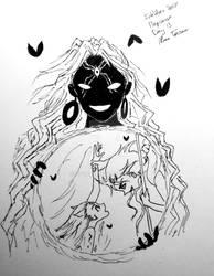 Magiinktober Day 13: Alma Torran