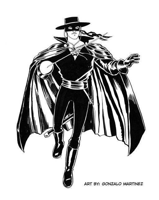 Zorro by gmartinez on deviantart