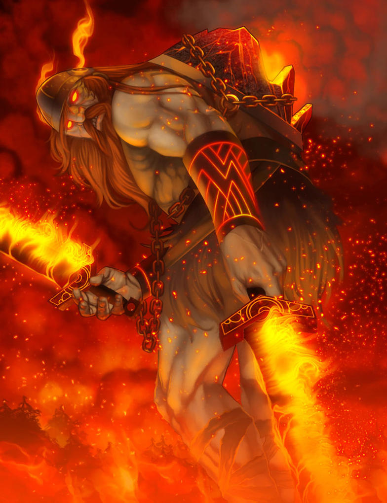 [God Idea] Surtr - The Fire Giant (Physical Tank) : Smite