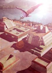 Tenochtitlan by chamakoso