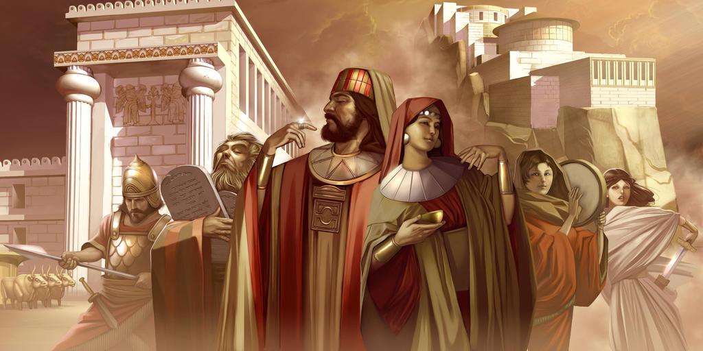 Lutopia Israelites by chamakoso
