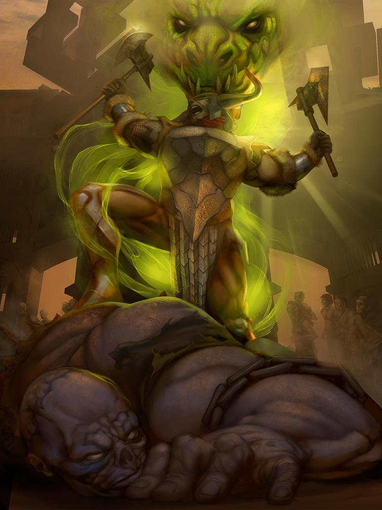 Balthazar the champion by chamakoso