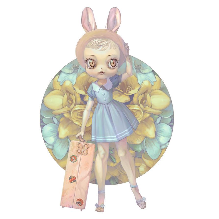 Bon Voyage, Honey Bunny by chamakoso