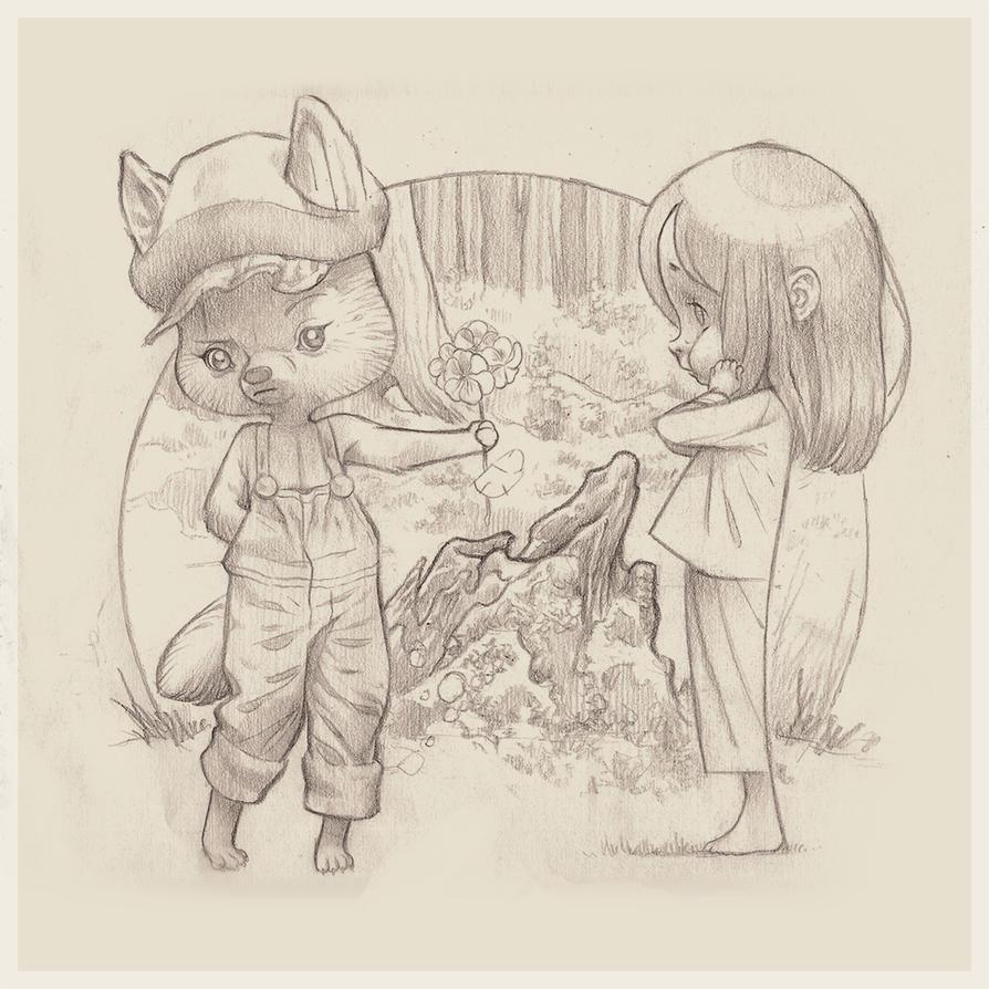 Amor en el Bosque by chamakoso