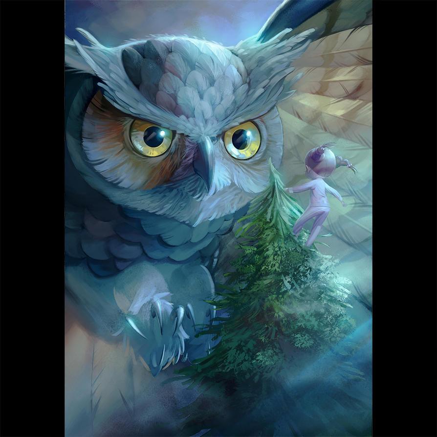 Owl by chamakoso
