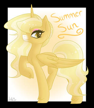 Commission- Summer Sun