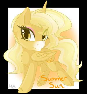 Chibi Commission-  Summer Sun
