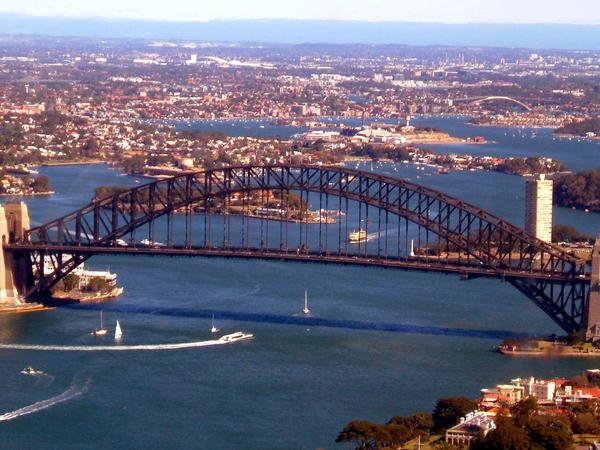 Sydney Harbour Bridge by FireflyPhotosAust